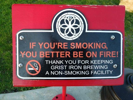 Burdett, Estado de Nueva York: Positive für Nichtraucher
