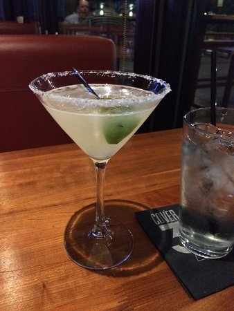 Round Rock, TX: The Mexican Martini is Don Julio tequila & Petron Citron tequila with lime & olive juice and a s