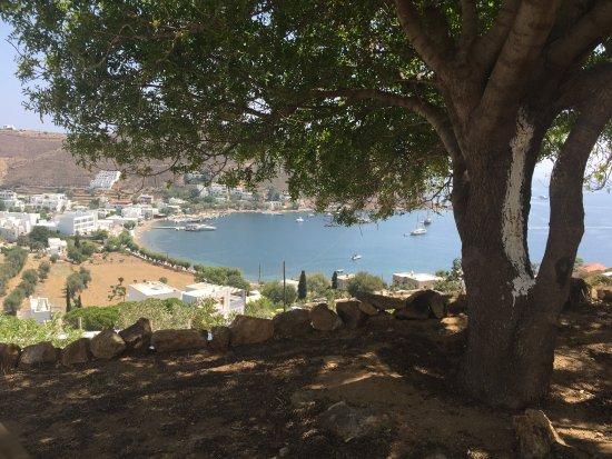Grikos, Greece: κήπος και θέα