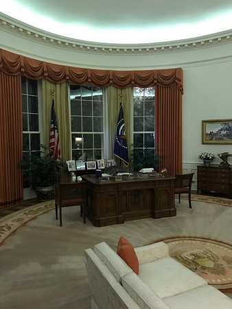 Simi Valley, Kalifornien: Recreation of the Oval Office