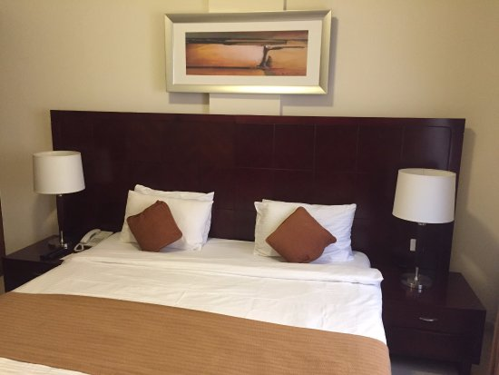 Akas Inn Hotel Apartment Bedroom Has Side Tables Table Lamps Writing