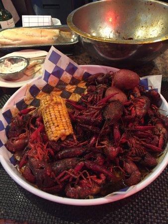 Cajun combo too salty picture of pappadeaux seafood for Acadiana cafe cajun cuisine san antonio tx