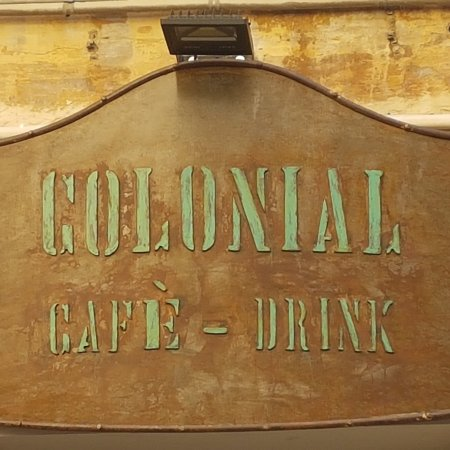 colonial cafe drink
