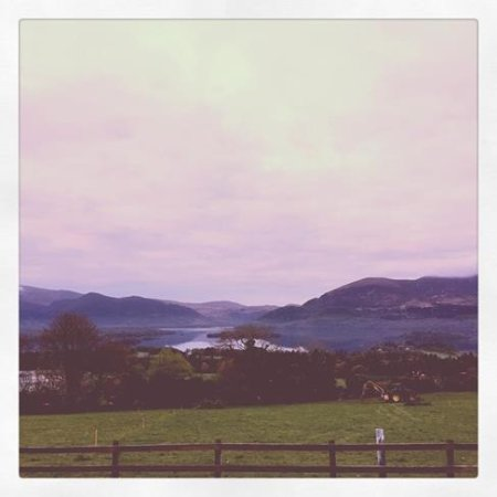 Aghadoe Heights Hotel & Spa: View from entrance to hotel