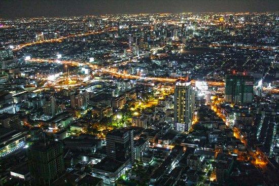 Baiyoke Sky Hotel :  views of Bangkok from roof