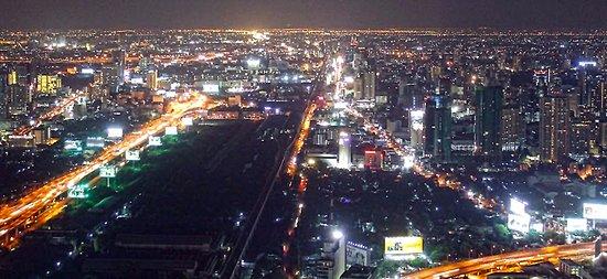 Baiyoke Sky Hotel:  views of Bangkok from roof