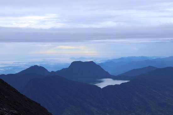 West Sumatra, Ινδονησία: magnificent view of the crater lake!