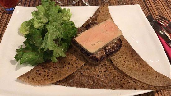 Mantes-la-Jolie, Francia: Bouchere foie gras