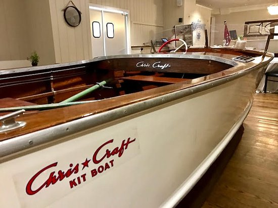 Troy, OH: Chris Craft boat