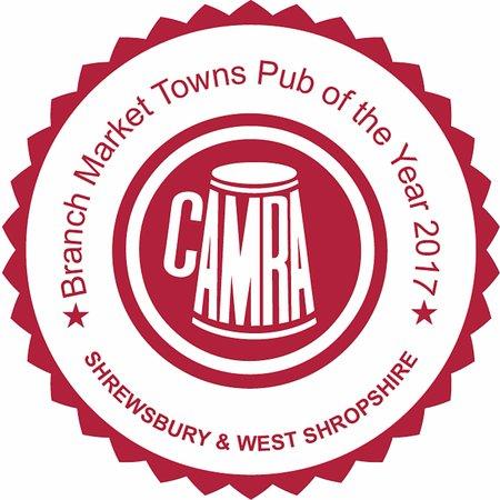 Освестри, UK: Shrewsbury and West Shropshire CAMRA Market Towns Pub of the Year