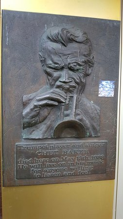 Relief Chet Baker