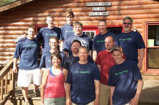 Lac du Flambeau, WI: 2x champion team of the Sandy Point Team Invitational
