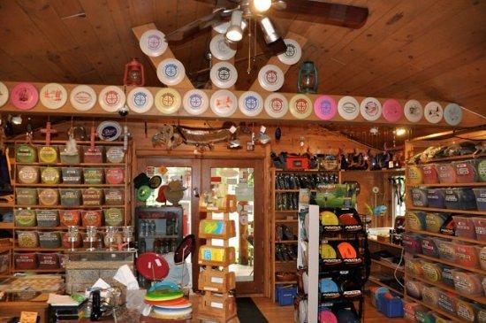 Lac du Flambeau, WI: The world's coolest disc golf pro shop