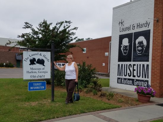 The Laurel And Hardy Museum Of Harlem Georgia Visiting World Famous In