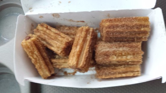 Jack in the Box: Churros use to be good, it was hard and cold.