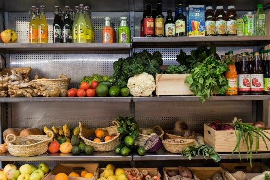 ¡Fruta y verdura , todo eco y fresco fresco!