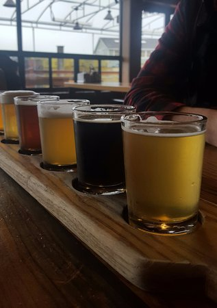 Cape Ann Brewing Company: Flight of 6 beers