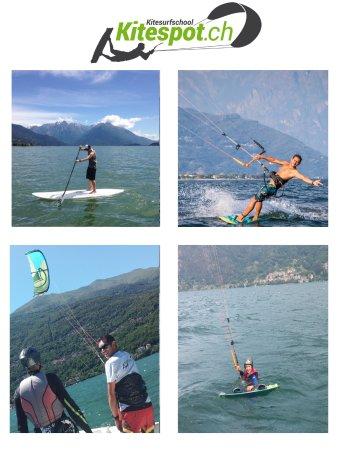 Dongo, Italia: Kitesurfschule