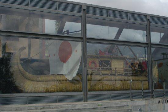 Guimar, Spain: Макет плота Тура Хейердала