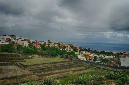 Guimar, Spain: Вид на океан