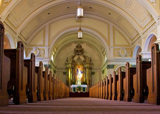 Little Falls, MN: Inside of Our Lady of Lourdes Church