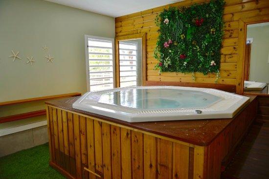 Capesterre, Guadeloupe: Jacuzzi Lou'SPA dans l'hôtel