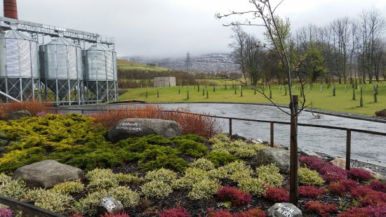 Cromdale, UK: Botanical garden