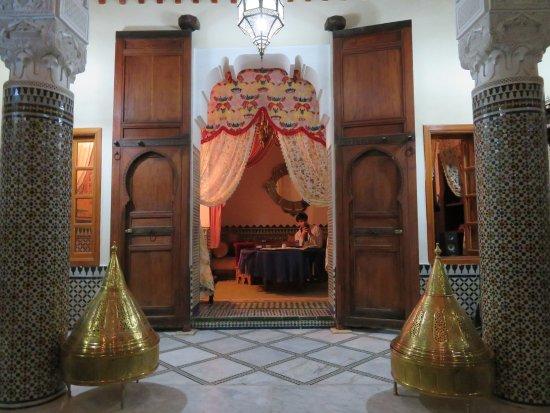 Riad-Boutique Borj Dhab Fez: dining area