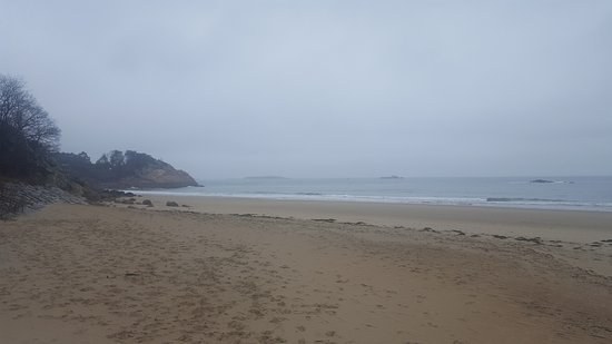 Manchester-by-the-Sea, MA: Singing Beach in the rain