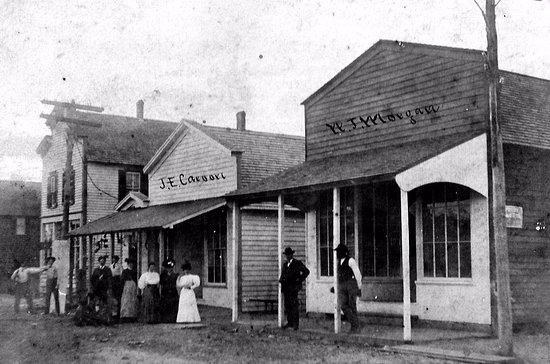 Oriental, NC: Broad Street 1920s