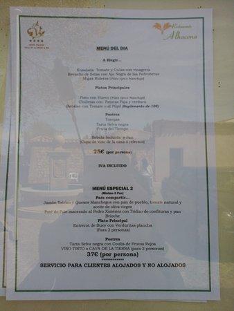 Restaurante Alhacena: IMG_20170415_150339_large.jpg
