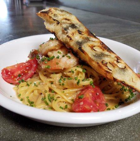 Fullerton, Califórnia: Chef Special: Shrimp Scampi