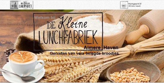 De Kleine Lunchffabriek te Almere Haven
