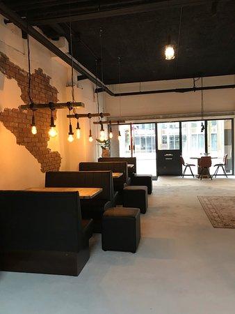Almere, Pays-Bas : De Kleine Lunchfabriek Interieur