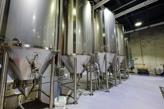 Downers Grove, IL: Fermenters in the Brew House. Where all of the magic happens.