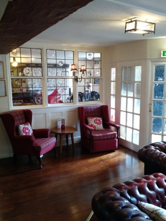 Chirk, UK: A Small, Cosy Seating Area