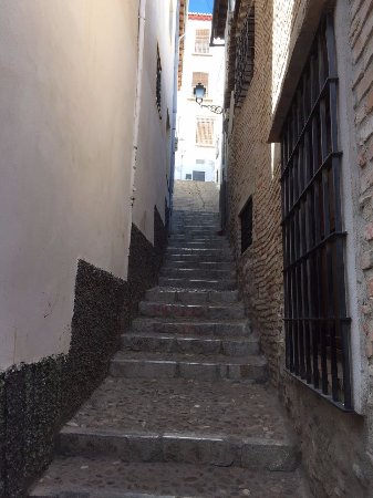Albayzin: Who asked for some more stairs?