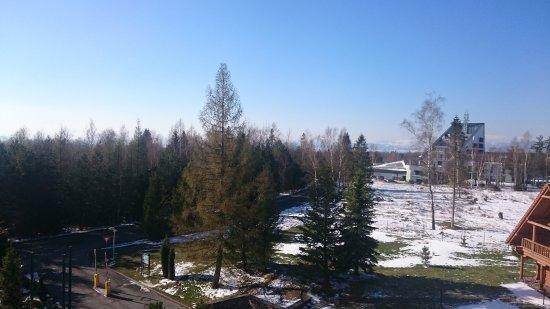 Stara Lesna, Slovakia: view from my balcony