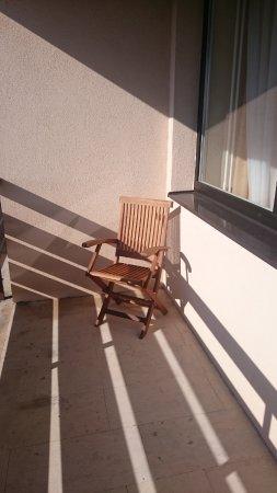 Stara Lesna, Slovakia: balcony