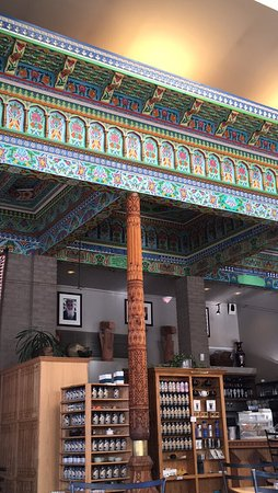 The Boulder Dushanbe Teahouse: Moroccan Mint green tea and toffee puffing for an afternoon treat. But visiting this Tea House w
