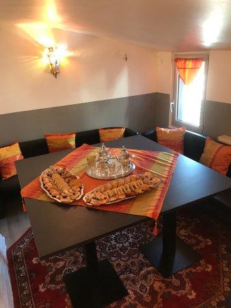 Yvetot, Frankrike: A l'étage salon privé pour 6 ou 8 personnes