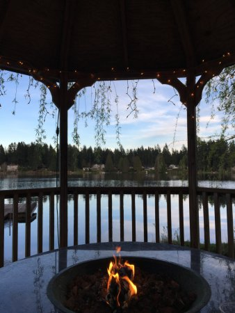 Woodinville, WA: view from gazebo