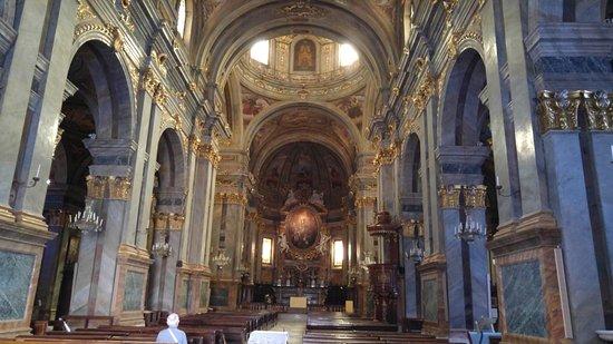 Fossano - Interno del Duomo