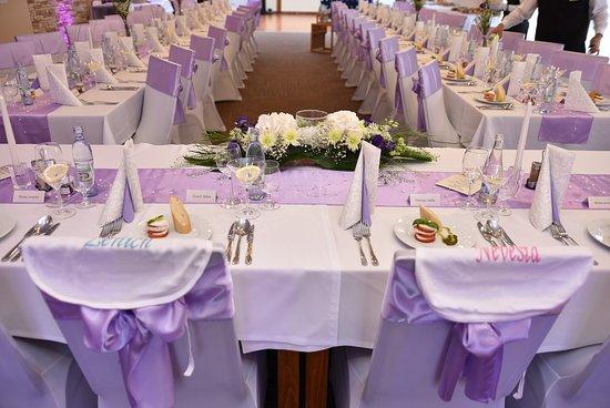 Martin, Словакия: svadobna hostina