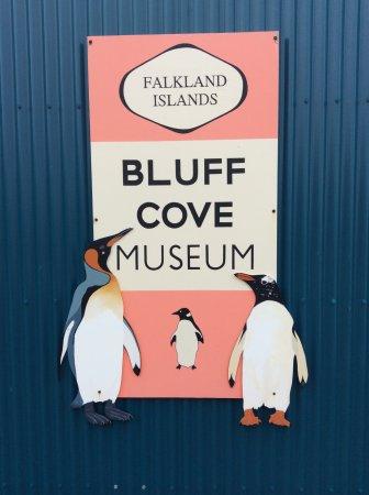 Bluff Cove Lagoon: Bluff Cove Museum