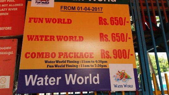 Water World Bangalore