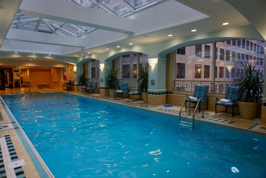 Heated Indoor Pool With Skylight Picture Of Fairmont Royal York Toronto Tripadvisor