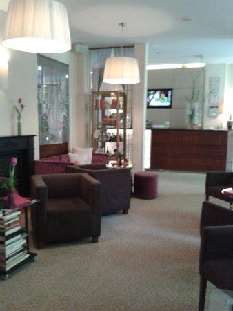 Boutique Hotel Stadthalle: schöner Eingangsbereich