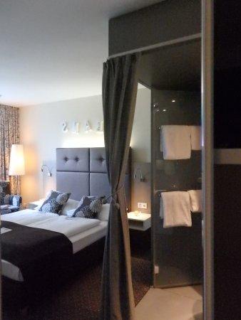 Boutique Hotel Stadthalle: In den Betten konnte man gut träumen