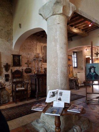 Roccatederighi, Italien: Emi's office.